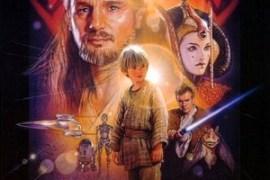 Star Wars Phantom Menace poster - Opening the Holocron - Star Wars: The Phantom Menace