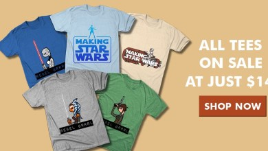 Photo of All Making Star Wars tees on sale $14 at TeePublic!