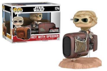 12610 SWReySpeeder POPdeluxe GLAM HiRes large - Funko Star Wars Celebration shared exclusives revealed!