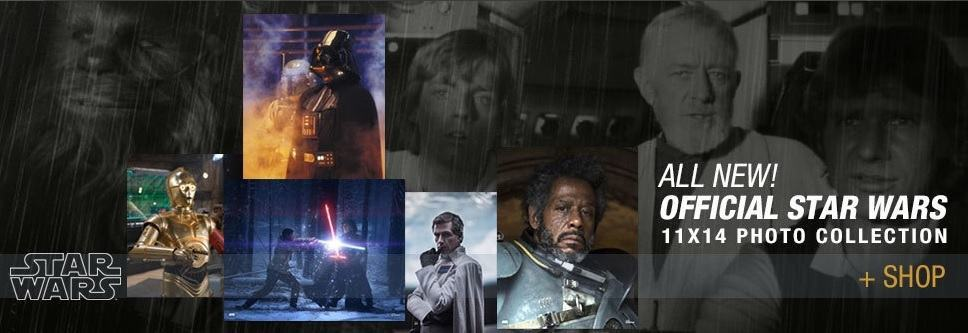 Star Wars Authentics is the Ultimate Force in Authentic Star Wars Photos and Autographs