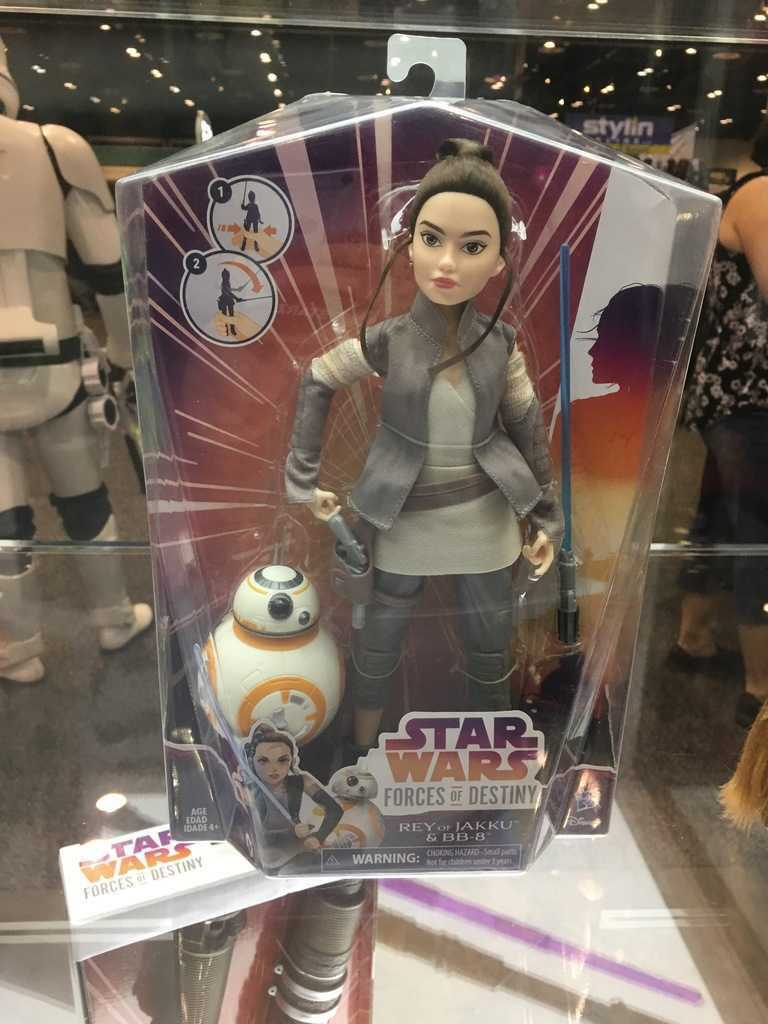 Star Wars Forces Of Destiny Action Doll Gallery Making