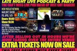 img 5322 - Get tickets for The MSW Podcast Network live podcast party! Now 18+!