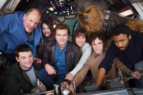 Video: More footage of the Han Solo pod car filming from the untitled Star Wars story and more!