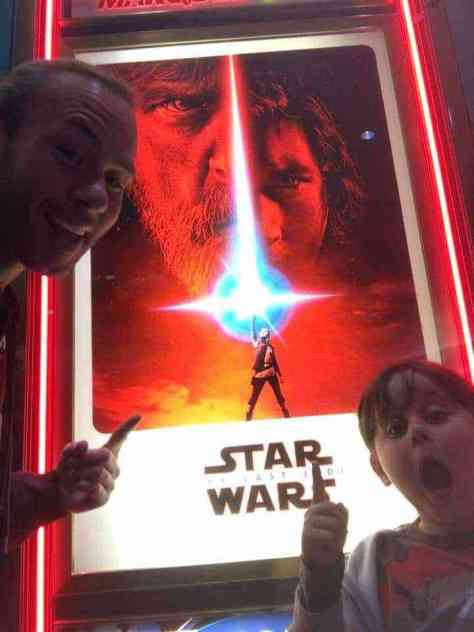 Star Wars: The Last Jedi teaser poster in theaters now