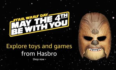 May the 4th promotions from Amazon, Target, Fifth Sun, and more!