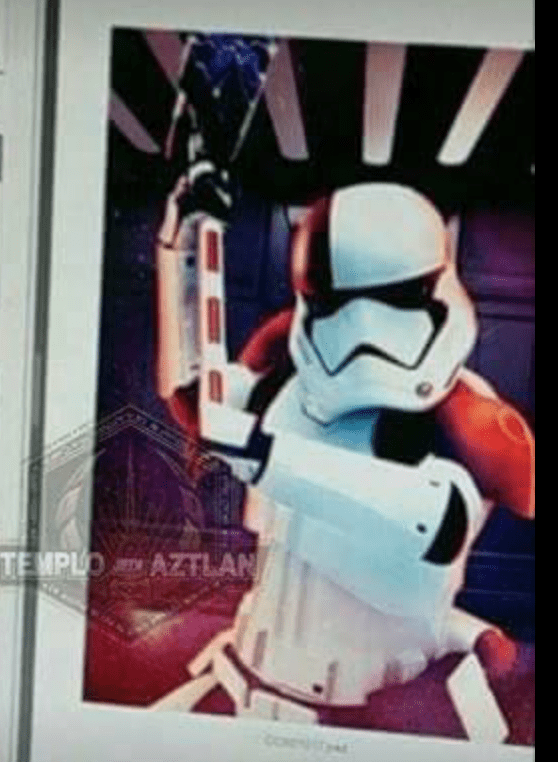 Screen Shot 2017 06 08 at 11.17.46 AM - Photos of a Praetorian Guard, Executioner Stormtrooper, and new AT-AT from Star Wars: The Last Jedi!
