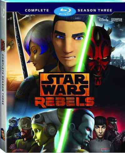 Press Release: Star Wars Rebels: Complete Season Three Blu-ray!
