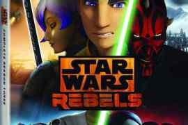 Star Wars Rebels  Complete Season Three Home Video ReleasePrintBeauty Shots6.75 Blu rayWorldwideRAP - Press Release: Star Wars Rebels: Complete Season Three Blu-ray!