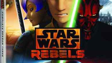 Press Release: Star Wars Rebels: Complete Season Three Blu-ray!