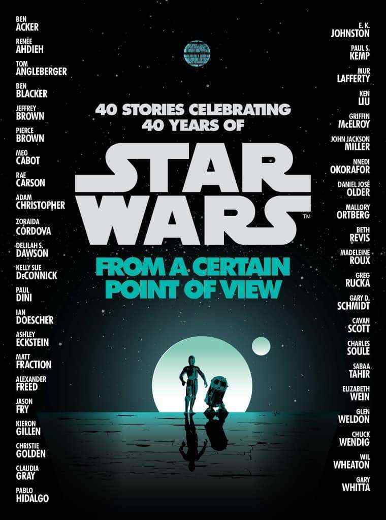 DF1V6HEXoAALhl 1 760x1024 - Del Rey Reveals Cover and Author List for Star Wars: From A Certain Point of View