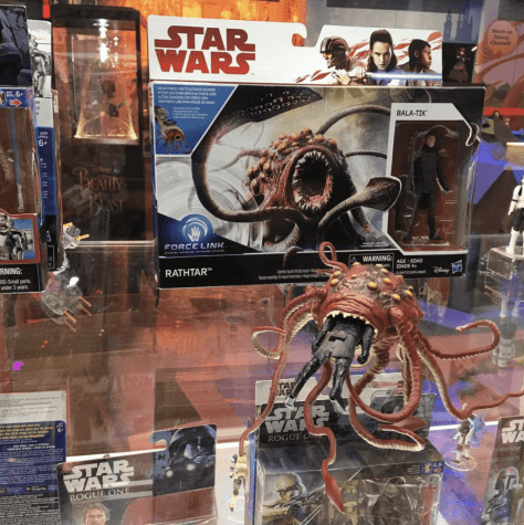 "Hasbro: Star Wars The Force Awakens 3.75"" Rathtar with Bala-Tik incoming!"