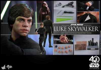 Hot Toys reveals Star Wars Return of the Jedi Luke Skywalker figure!