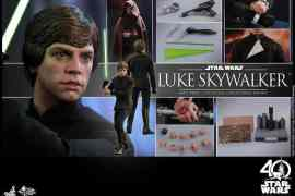 IMG 9179 - Hot Toys reveals Star Wars Return of the Jedi Luke Skywalker figure!