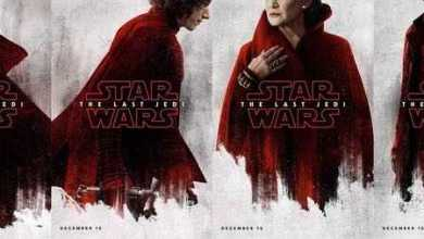 Photo of Six Star Wars: The Last Jedi character posters