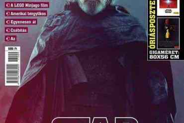 Luke Skywlker - New look at Luke Skywalker in Star Wars: The Last Jedi from a Hungarian mag!