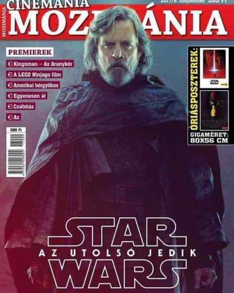 New look at Luke Skywalker in Star Wars: The Last Jedi from a Hungarian mag!