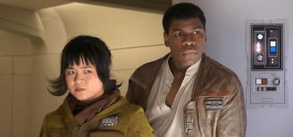 Rose Tico and Finn