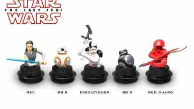 Photo of Star Wars: The Last Jedi-themed popcorn buckets, toppers, and cups!