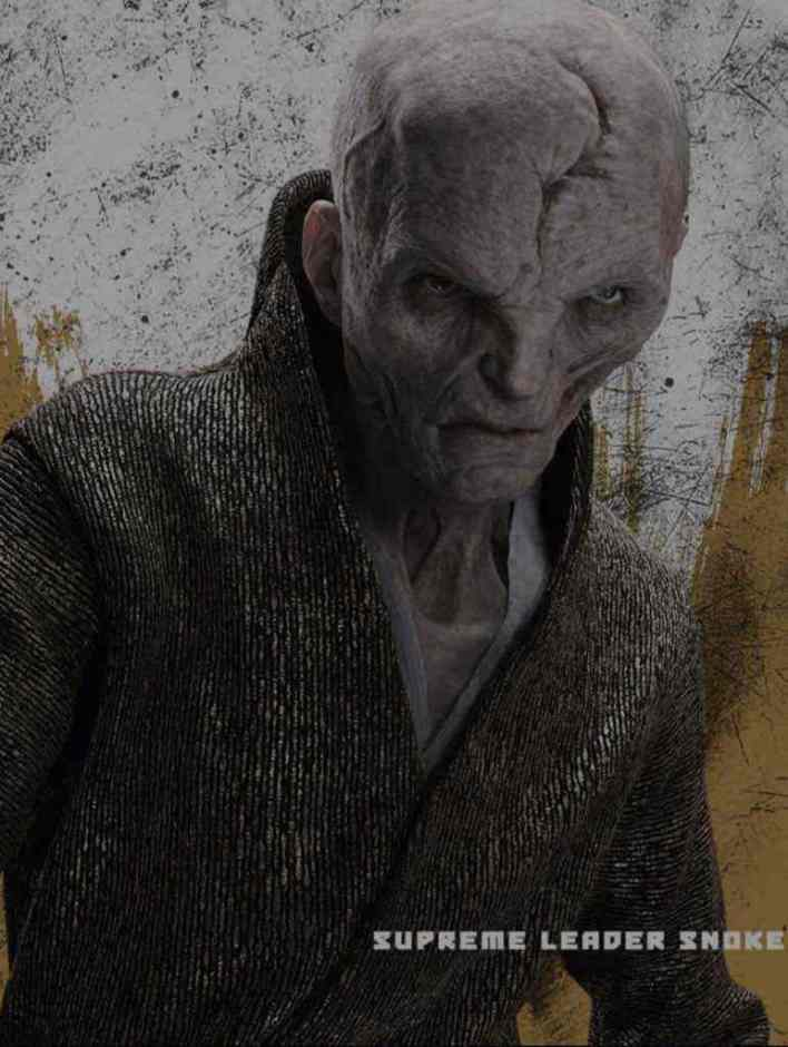 IMG 5163 - New look at Supreme Leader Snoke from Star Wars: The Last Jedi!