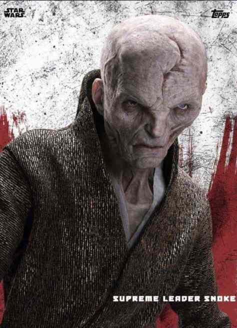 New look at Supreme Leader Snoke from Star Wars: The Last Jedi!