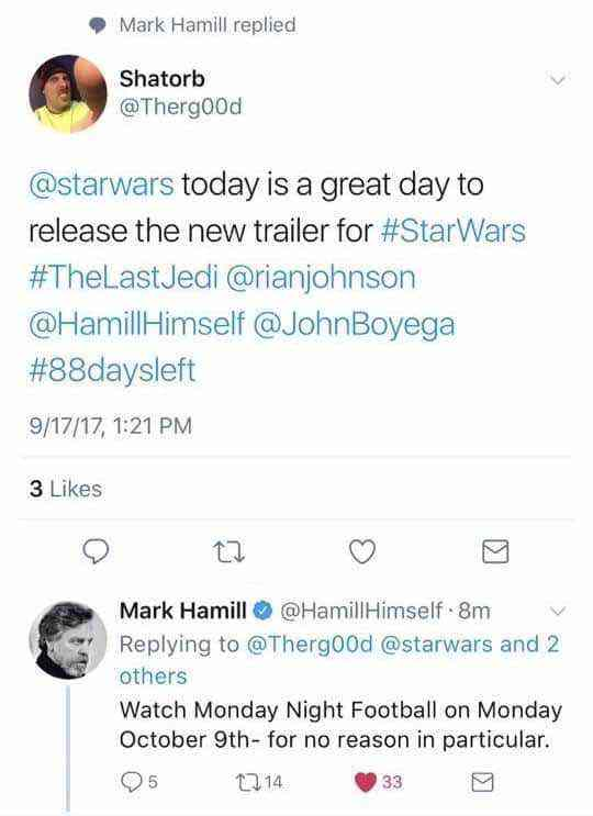 IMG 5449 - Star Wars: The Last Jedi trailer coming October 9th?