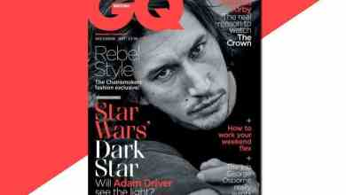 ADAM DRIVE GQ - Adam Driver let a big piece of Rey's backstory drop from Star Wars: The Last Jedi? Maybe. Maybe not.