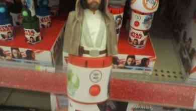 Photo of Candy dispensers reveal new dialogue from Star Wars: The Last Jedi