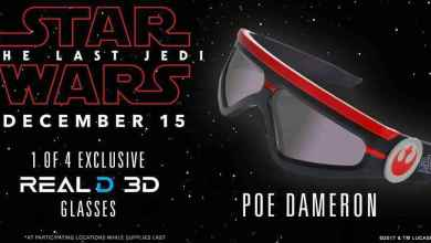 Photo of Star Wars: The Last Jedi RealD 3D glasses are here!