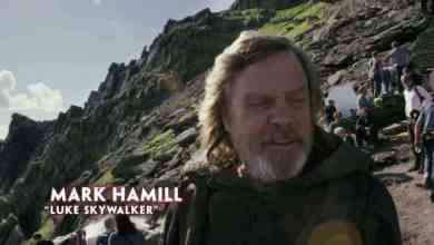 New Star Wars: The Last Jedi BTS video!