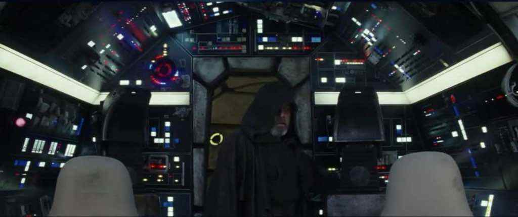 IMG 6751 - Star Wars: The Last Jedi TV spot shows Luke on the Falcon!