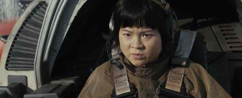 IMG 6937 - New shot of Rose Tico in a Resistance ski speeder from Star Wars: The Last Jedi!