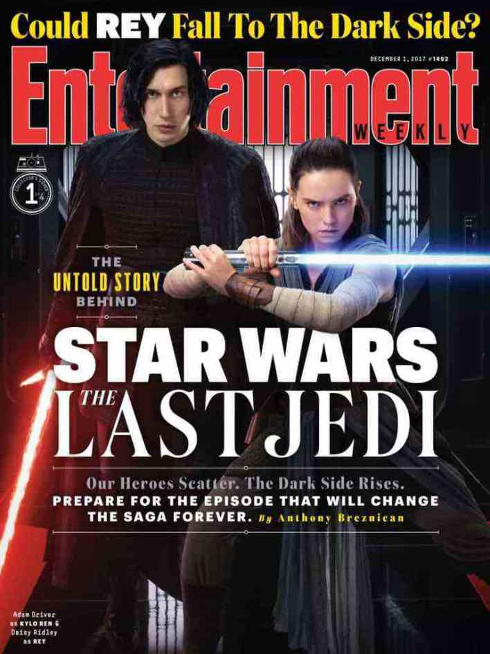 IMG 7016 - Entertainment Weekly showcases its Star Wars: The Last Jedi covers!
