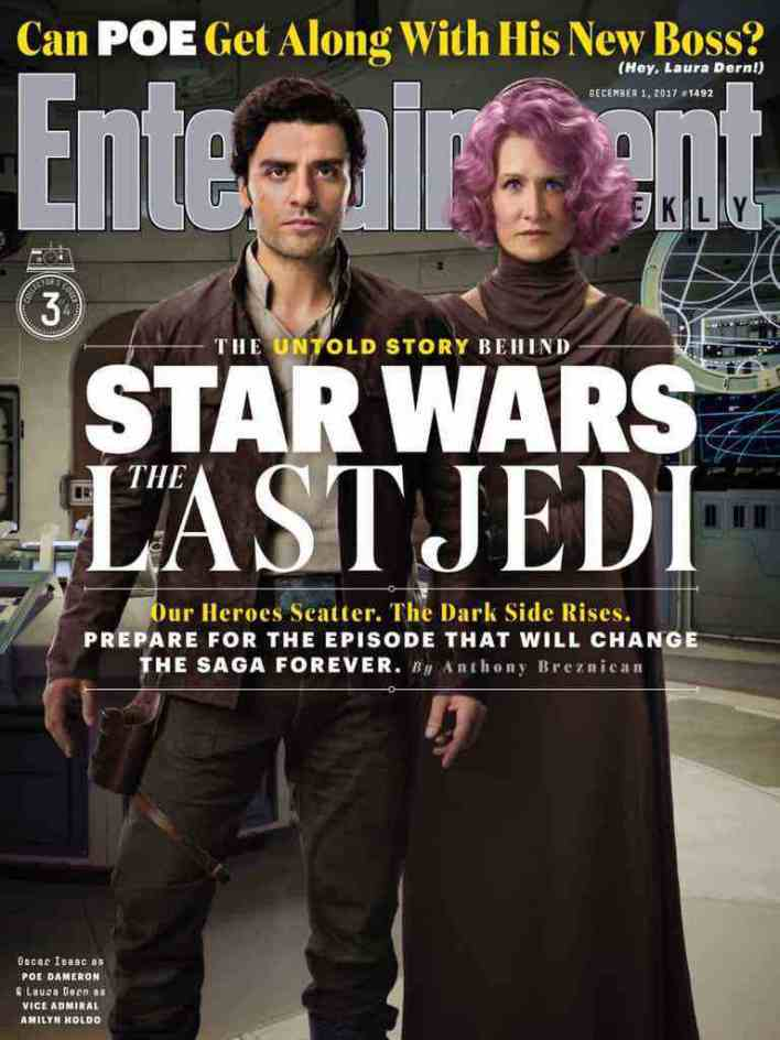 IMG 7018 - Entertainment Weekly showcases its Star Wars: The Last Jedi covers!