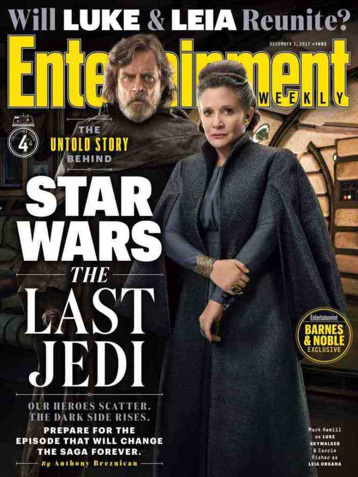 IMG 7019 - Entertainment Weekly: The Fate of Luke and Leia in Star Wars: The Last Jedi