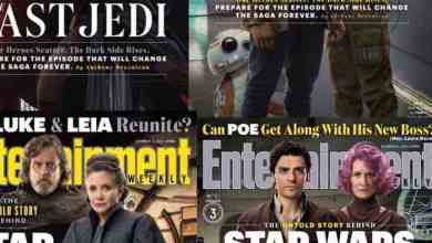 Entertainment Weekly showcases its Star Wars: The Last Jedi covers!