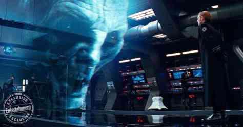 Andy Serkis talks Snoke's pain in Star Wars: The Last Jedi