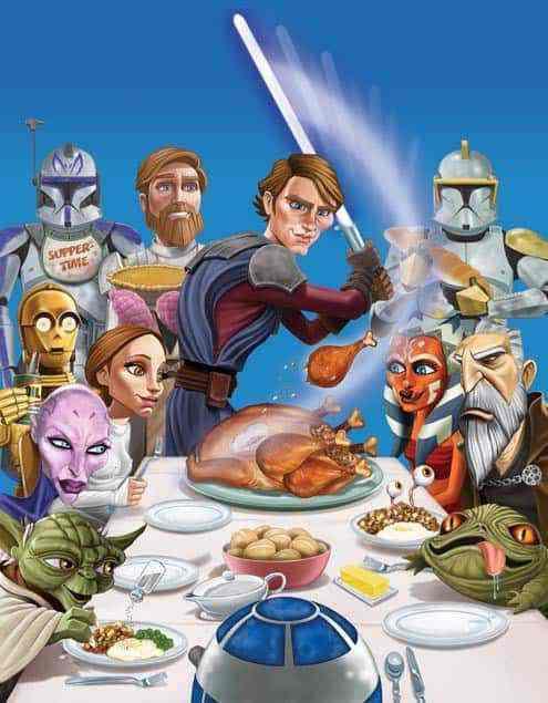 Happy Thanksgiving From MakingStarWars.Net