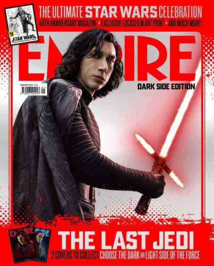 empire magazine s star wars the last jedi variant covers. Black Bedroom Furniture Sets. Home Design Ideas