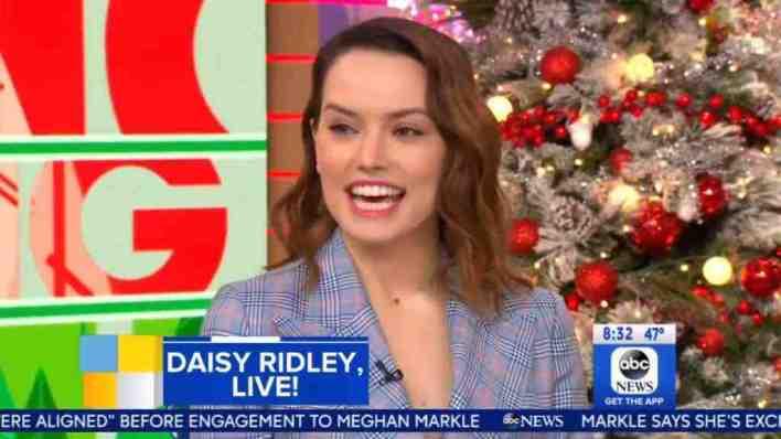 Daisy Ridley talks Star Wars: The Last Jedi on GMA