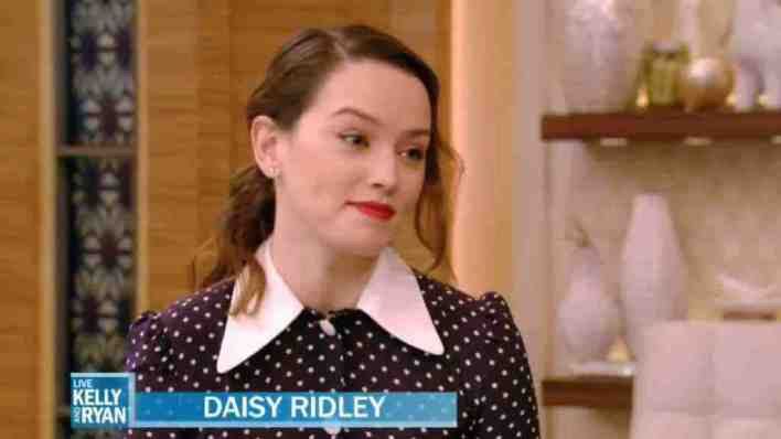 Daisy Ridley discusses Rey's journey in Star Wars: The Last Jedi