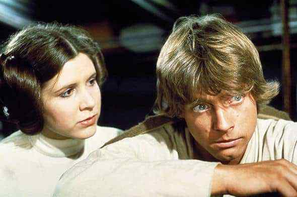 LUKE LEIA 895836 - Entertainment Weekly: The Fate of Luke and Leia in Star Wars: The Last Jedi