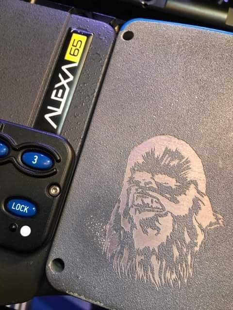 Check out Chewbacca on the Alexa 65 camera used for Solo: A Star Wars Story