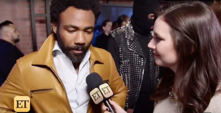 Video: Donald Glover tells ET's Ash Crossan Solo: A Star Wars Story is a lot more fun than the other movies.