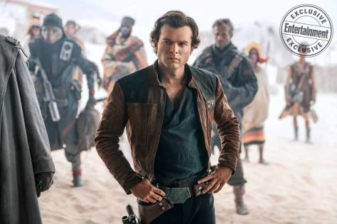 EW: How Harrison Ford Impacted Alden Ehrenreich and Solo: A Star Wars Story