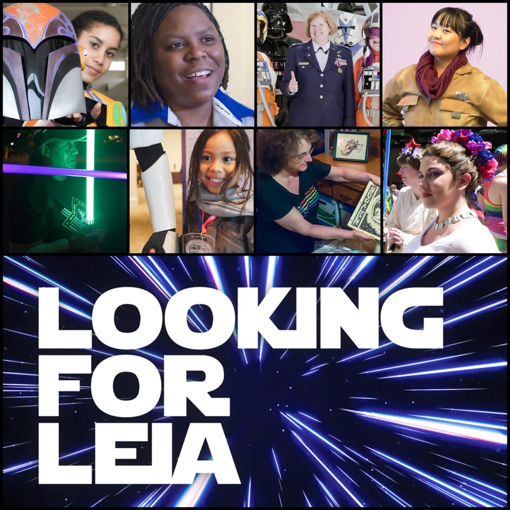 "Star Wars Fans, please help fund ""Looking for Leia"" so it can become a full series!"