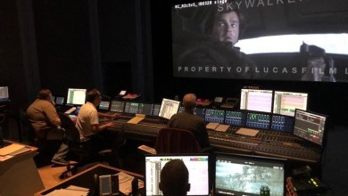 Photo of Sound Mixing at Skywalker Sound shows us a tiny glimpse of Solo: A Star Wars Story