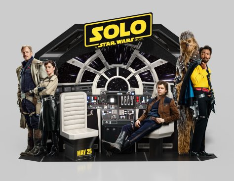 Check out the Solo: A Star Wars Story 3D Interactive Display video from Drissi Advertising!