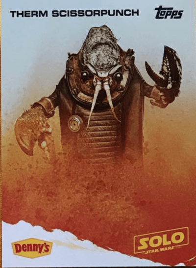 Now, This is Podcasting! Episode 223! Therm Scissorlunch - Denny's Press Event Reveals new Solo: A Star Wars Story characters!