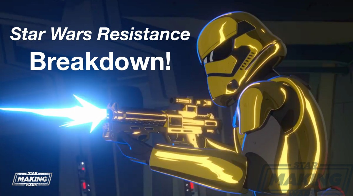 Star Wars Resistance First Look Trailer, screenshot gallery, and breakdown!