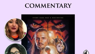 Photo of Rebel Grrrl podcast presents : A Star Wars: The Phantom Menace commentary track